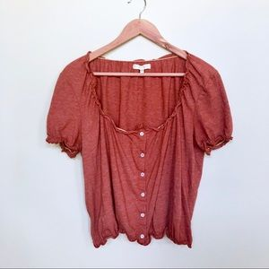 Urban Outfitters boho peasant top
